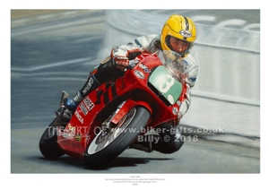 Joey Dunlop 25th Win By Billy